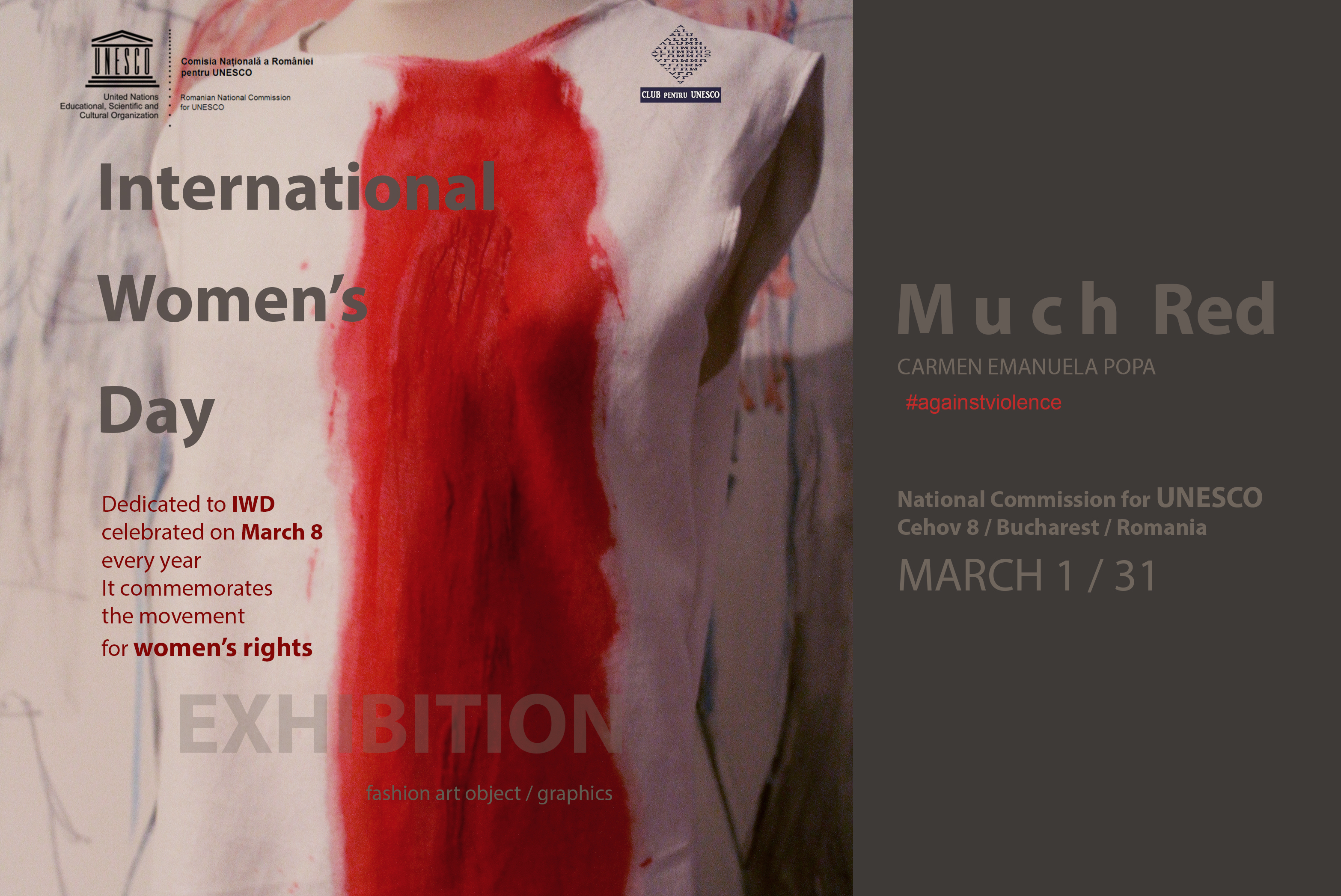 Much Red Exhibition at the National Commission for UNESCO