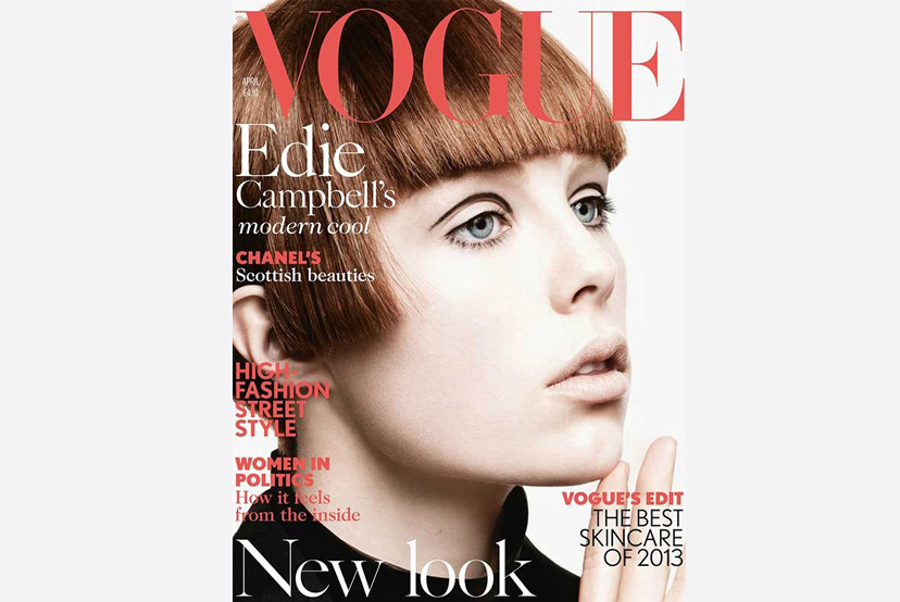 Vogue UK April 2013 <br>Profile Designer